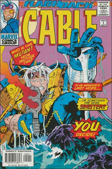 Cable (1993) -1-A by Marvel