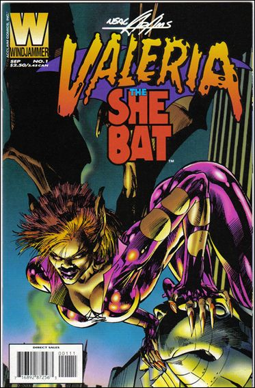 Valeria the She-Bat (1995) 1-A by Windjammer