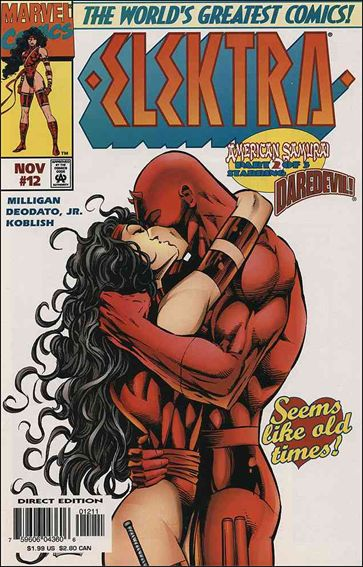 Elektra (1996) 12-A by Marvel