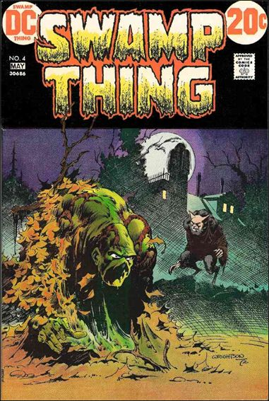 Swamp Thing (1972) 4-A by DC