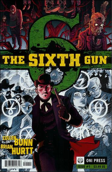 Sixth Gun 1-B by Oni Press