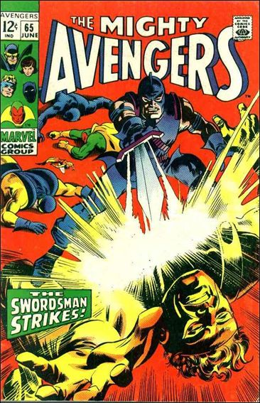Avengers (1963) 65-A by Marvel