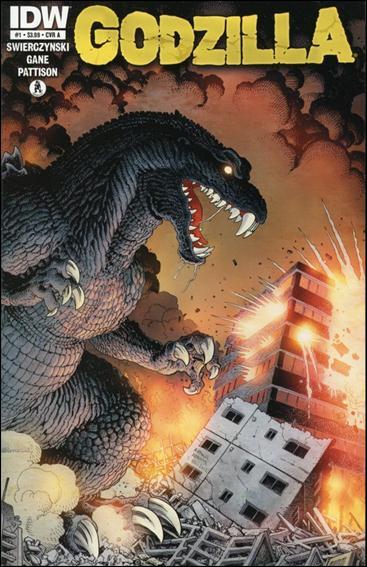 Godzilla (2012) 1-A by IDW