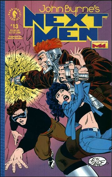 John Byrne's Next Men (1992) 13-A by Dark Horse