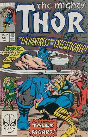 Thor (1966) 403-A by Marvel