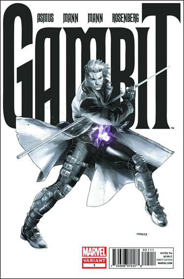 Gambit (2012) 1-C by Marvel