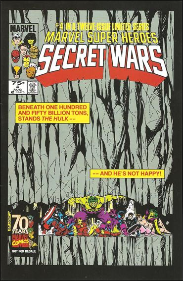 Marvel Super Heroes Secret Wars 4-C by Marvel
