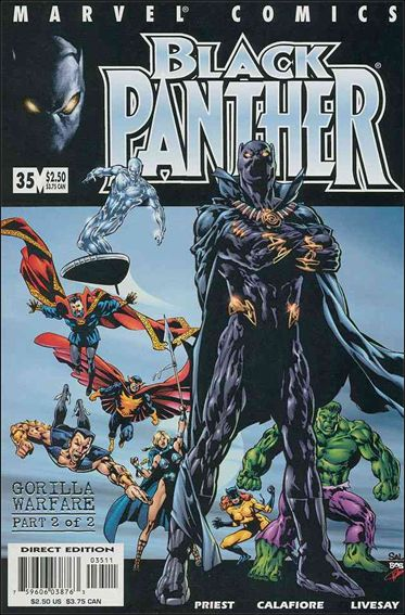 Black Panther (1998) 35-A by Marvel