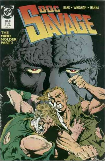 Doc Savage (1988) 8-A by DC