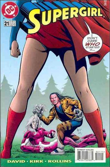 Supergirl (1996) 21-A by DC