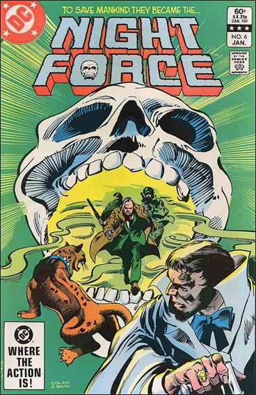 Night Force (1982) 6-A by DC