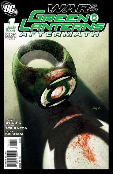 War of the Green Lanterns: Aftermath 1-A by DC