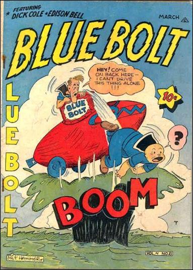 Blue Bolt (1943) 8-A by Novelty Press
