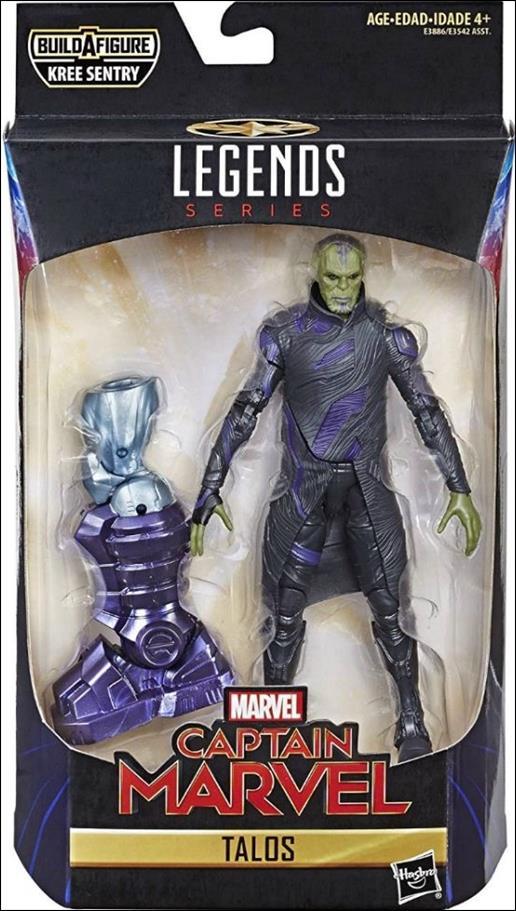 Marvel Legends Series: Captain Marvel (Kree Sentry Series) Talos by Hasbro