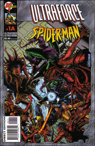 Ultraforce/Spider-Man 1A-A by Malibu