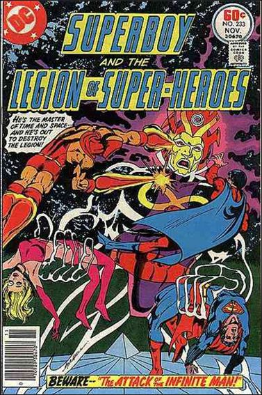 Superboy and the Legion of Super-Heroes 233-A by DC