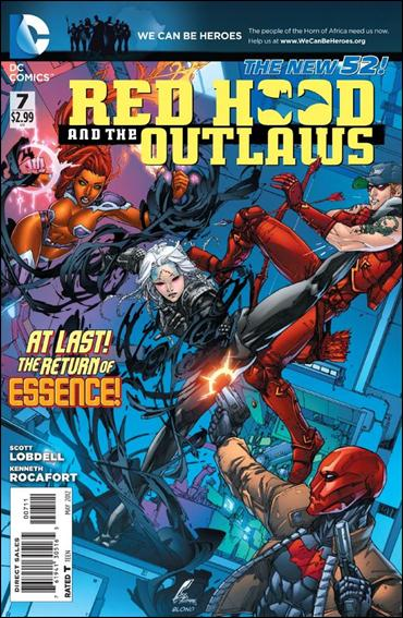 Red Hood and the Outlaws  7-A by DC
