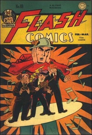 Flash Comics (1939) 69-A by DC