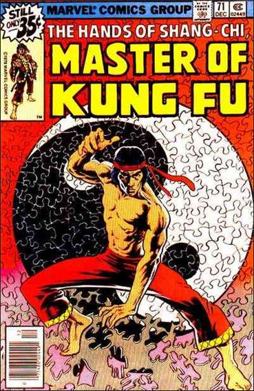 Master of Kung Fu 71-A by Marvel