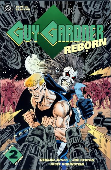 Guy Gardner Reborn 2-A by DC
