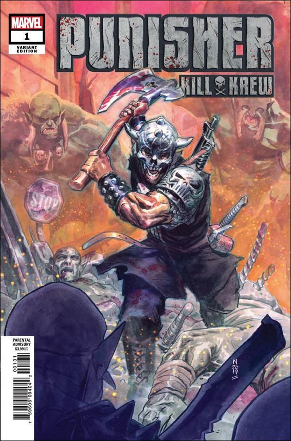 Punisher Kill Krew 1-B by Marvel