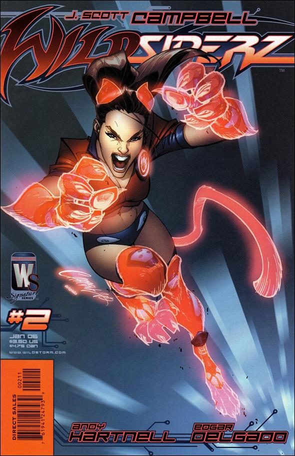 Wildsiderz 2-B by WildStorm