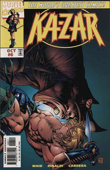 Ka-Zar (1997) 6-A by Marvel