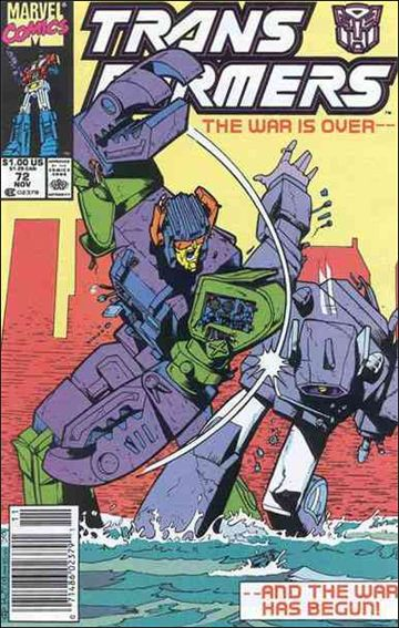 Transformers (1984) 72-A by Marvel