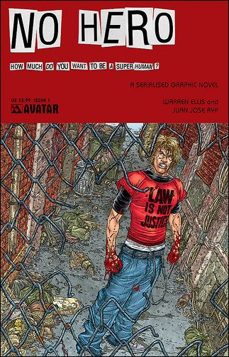 No Hero 1-A by Avatar Press