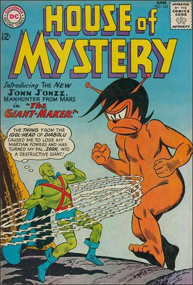 House of Mystery (1951) 143-A by DC