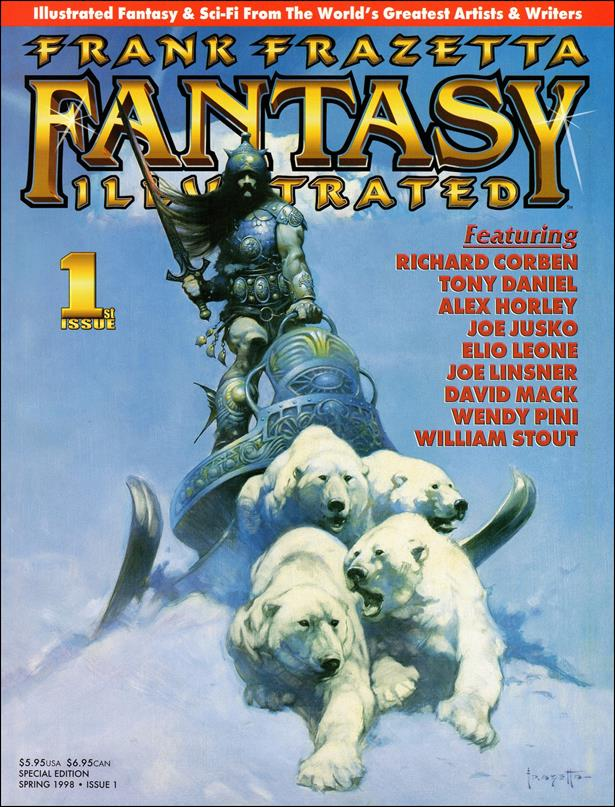 Frank Frazetta Fantasy Illustrated 1-A by Quantum Cat Entertainment