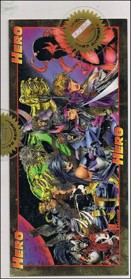 Hero Master-Foil: Cyberforce and Stryke Force (Uncut Promo) 1 - 3 of 3-A by Hero Illustrated