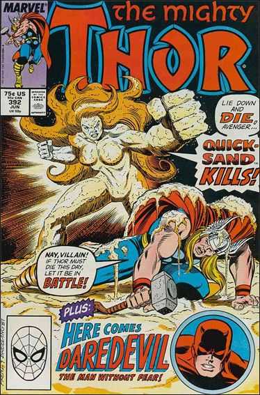 Thor (1966) 392-A by Marvel