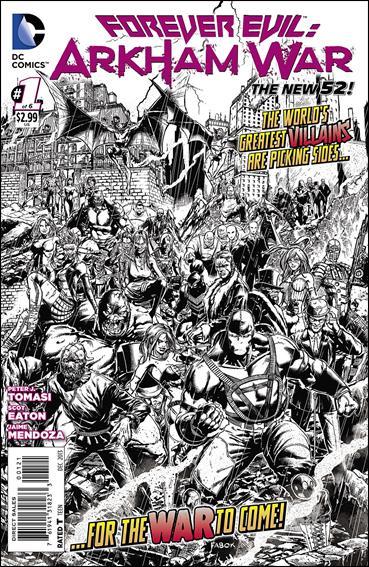 Forever Evil: Arkham War 1-B by DC