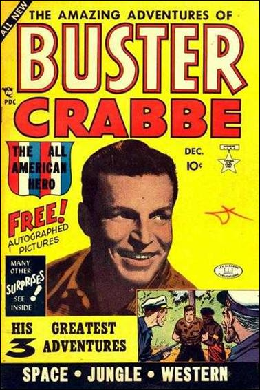 Buster Crabbe (1953) 1-A by Lev Gleason Productions
