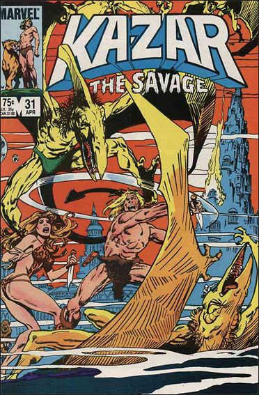 Ka-Zar the Savage 31-A by Marvel