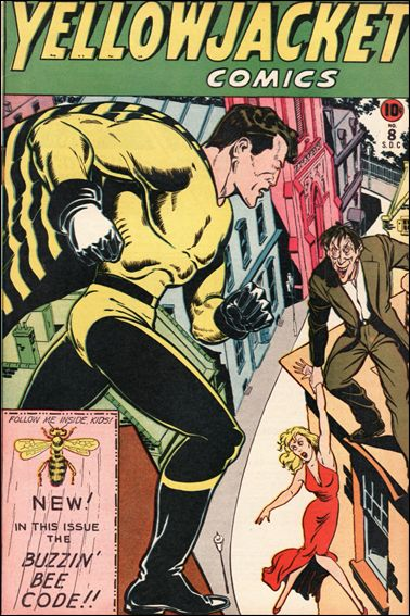 Yellowjacket Comics 8-A by Frank