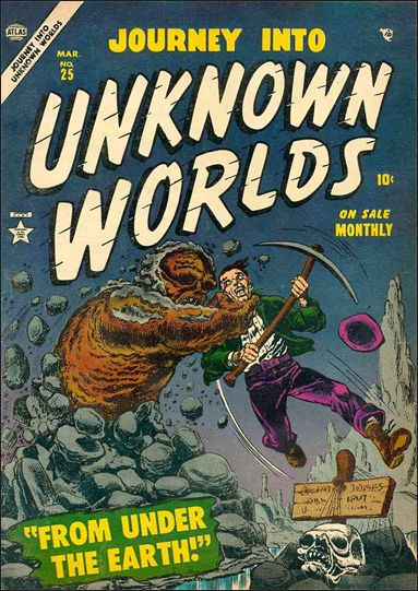 Journey into Unknown Worlds (1950) 25-A by Marvel
