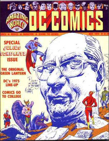 Amazing World of DC Comics 3-A by DC