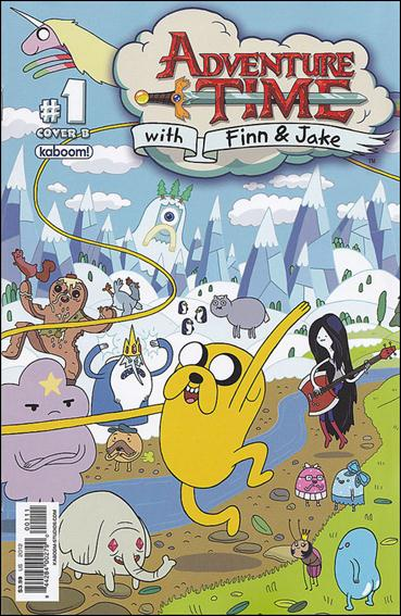 Adventure Time 1-B by Kaboom!