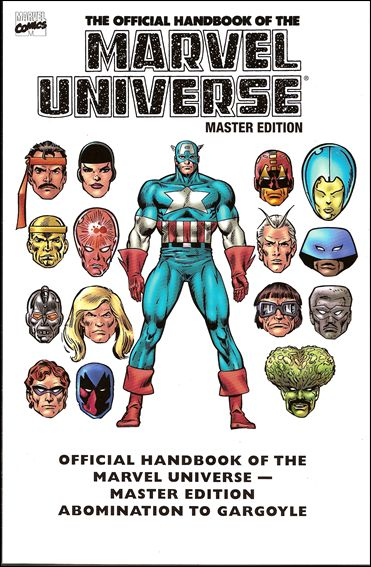 Essential Official Handbook of the Marvel Universe - Master Edition 1-A by Marvel