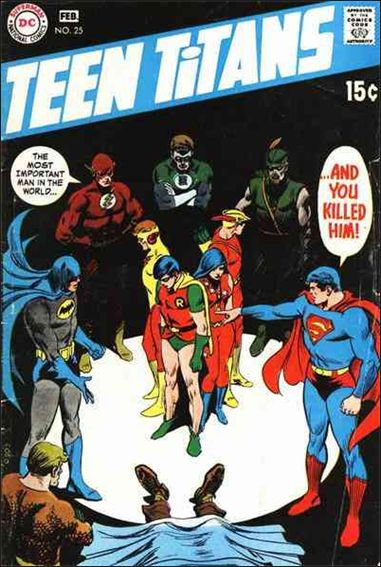 Teen Titans (1966) 25-A by DC