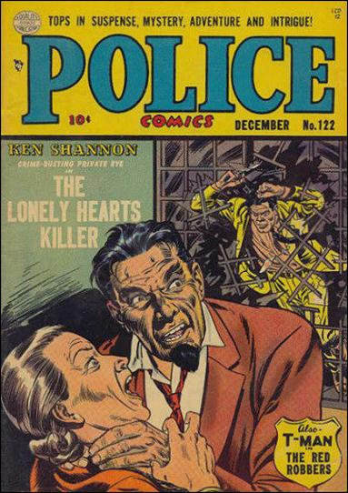 Police Comics 122-A by Comic Magazines