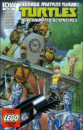 Teenage Mutant Ninja Turtles New Animated Adventures 13-A