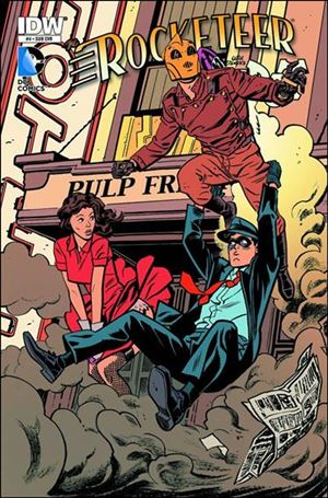 Rocketeer/The Spirit: Pulp Friction 4-B
