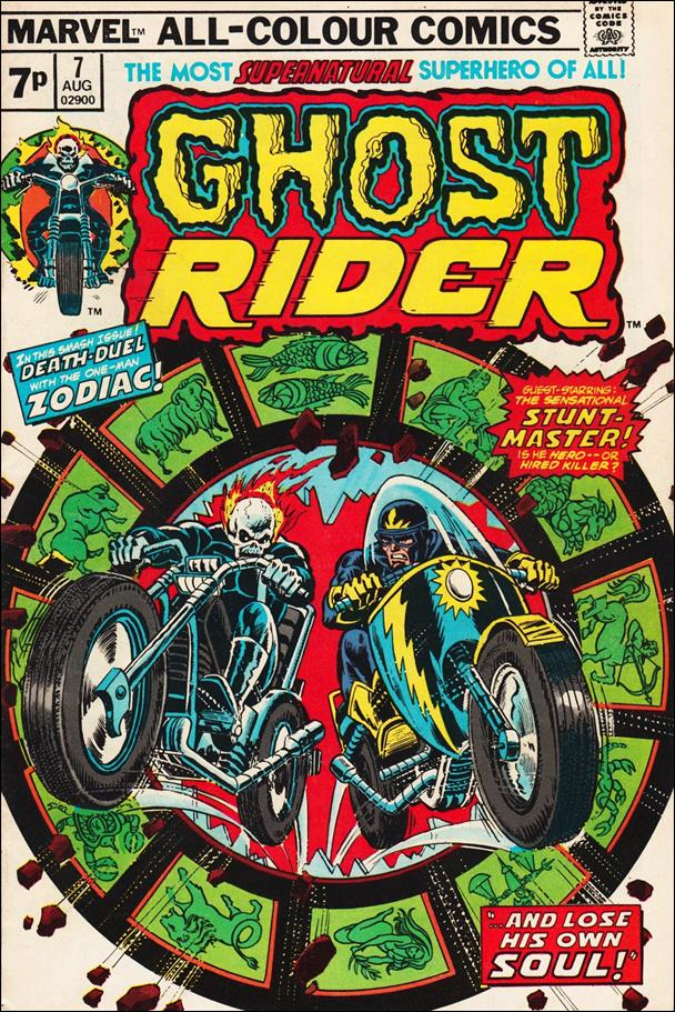 Ghost Rider (1973) 7-B by Marvel