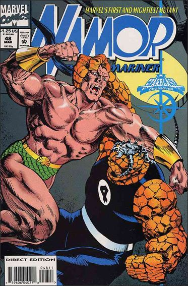 Namor: The Sub-Mariner 48-A by Marvel
