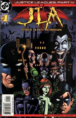 Justice Leagues: Justice League of Arkham 1-A