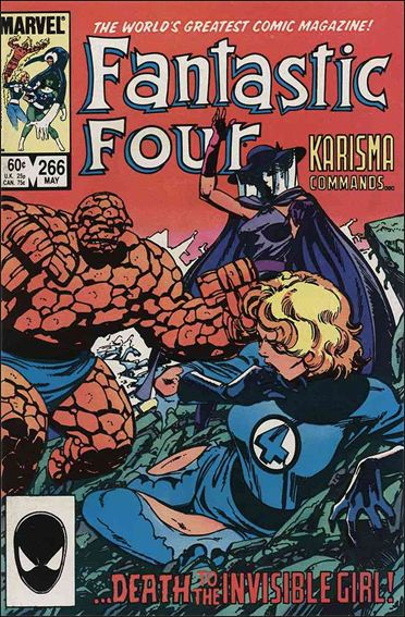 Fantastic Four (1961) 266-A by Marvel