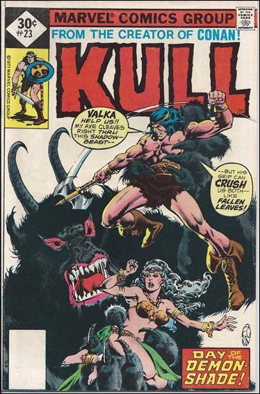 Kull the Destroyer 23-C by Marvel